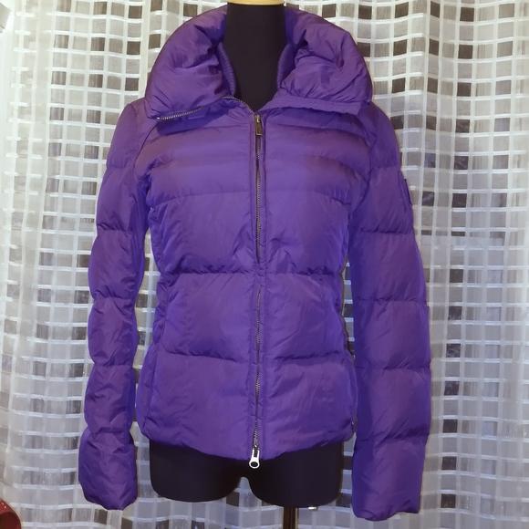 add Jackets   Blazers - Women s ADD Brand Purple Puffer Jacket 56d8b25e2